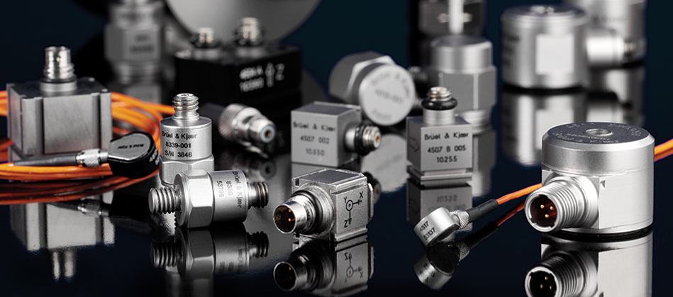 Bruel & Kjaer's extensive range of High Quality Accelerometers, Cables and Signal Conditioners